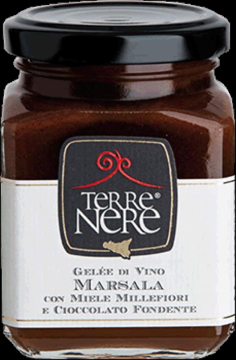 Gelée-di-Vino-Marsala-con-Miele-Millefiori-e-Cioccolato-Fondente