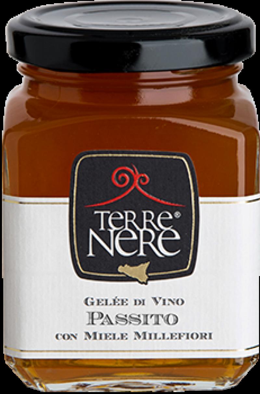 Gelée-di-Vino-Passito-con-Miele-Millefiori
