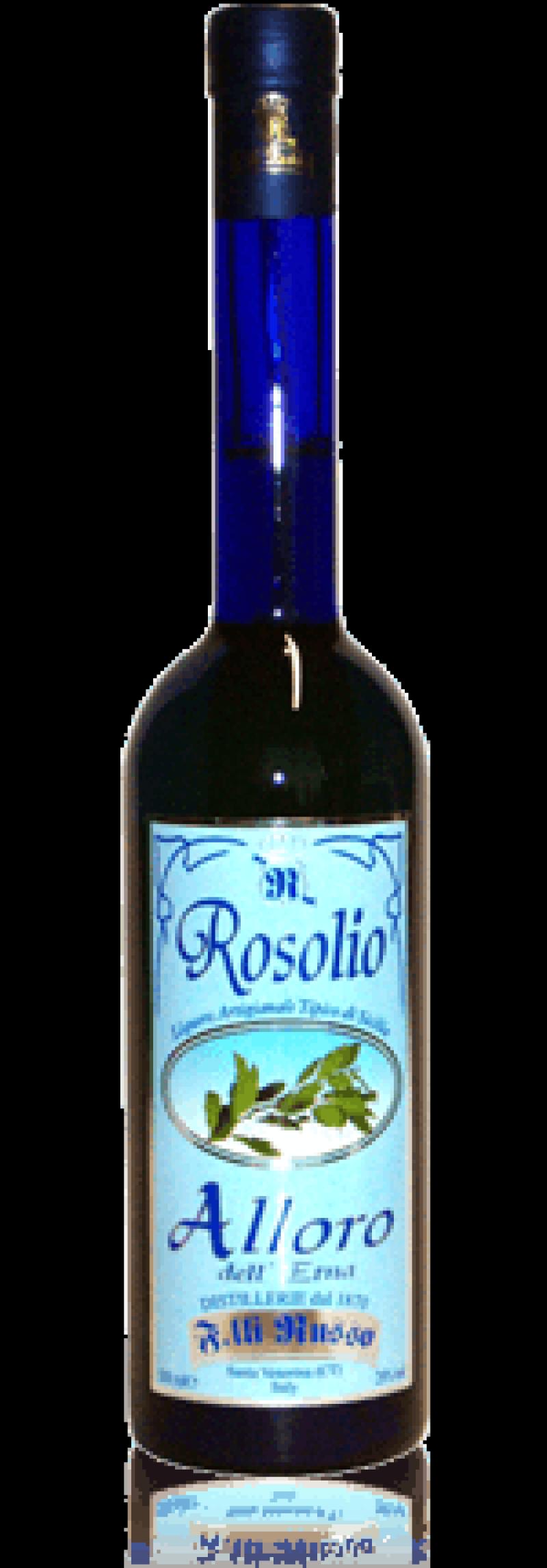 Rosolio-Laurel-leaves